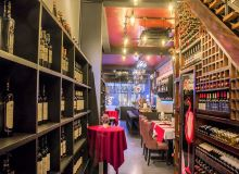 Wine store and restaurant